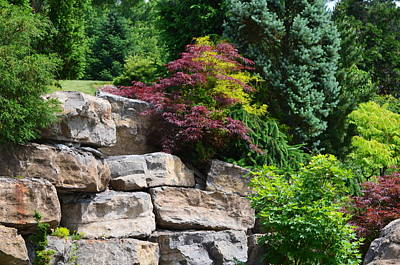 Photograph - Stone Wall by Kathleen Stephens