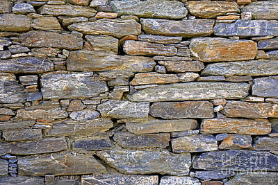 Photograph - Stone Wall by Nareeta Martin