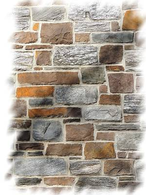 Photograph - Stone Wall by Vince Green