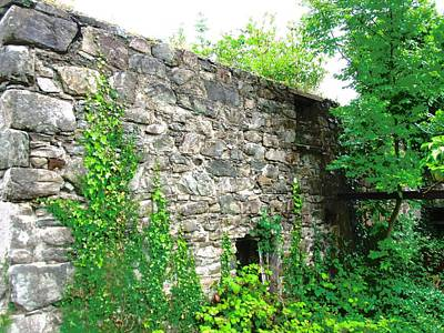 Photograph - Stone Walls by Stephanie Moore
