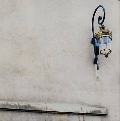 Photograph - Stone With Lamp by Cheryl Miller