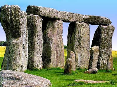 Photograph - Stonehenge - England by Jen White