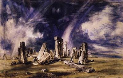 Painting - Stonehenge 1835 by Constable John
