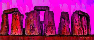 Stonehenge 203 - Da Art Print