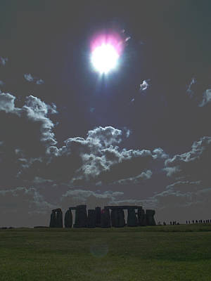 Stonehenge Art Print by Aaron Carberry