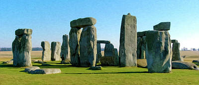 Photograph - Stonehenge by Alan Toepfer