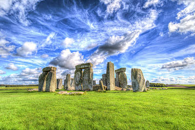 Photograph - Stonehenge Ancient Britain by David Pyatt