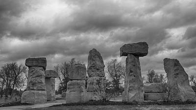 Photograph - Stonehenge Buffalo 4808b by Guy Whiteley