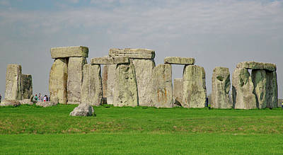Photograph - Stonehenge Burial Site  by Allan Levin