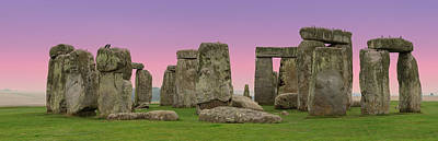 Photograph - Stonehenge Panorama by Clare Bambers