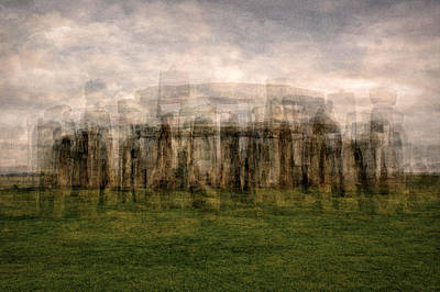 Stonehenge Art Print by Denis Bouchard