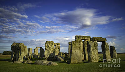 Photograph - Stonehenge Evening by Brian Jannsen