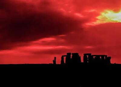 Stonehenge II Art Print by Steve Harrington