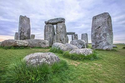 Amesbury Photograph - Stonehenge In England by Joana Kruse