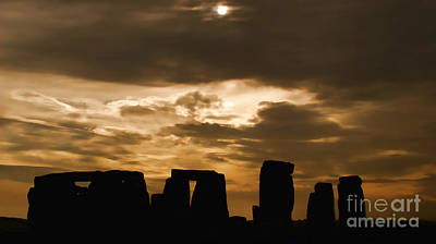 Photograph - Stonehenge Iv by Louise Fahy