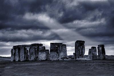 Architecture Photograph - Stonehenge by  Jaroslaw Grudzinski