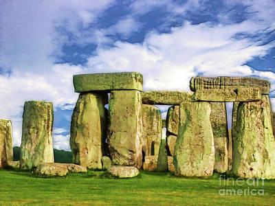 Stonehenge Art Print by Judi Bagwell