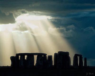 Photograph - Stonehenge Montana by Joe Bonita