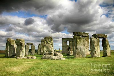 Photograph - Stonehenge Monument by Teresa Zieba