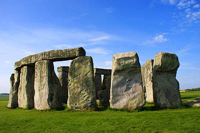 Sacrificial Art Photograph - Stonehenge No 1 by Kamil Swiatek