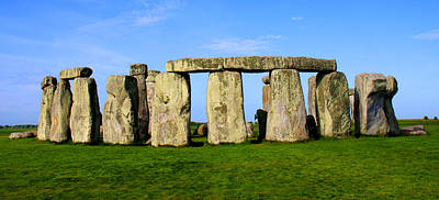 Sacrificial Art Photograph - Stonehenge No 2 by Kamil Swiatek
