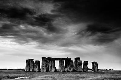 Megalith Photograph - Stonehenge by Paul Myers-Bennett