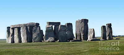 Photograph -  Stonehenge Prehistoric Monument by Gregory Dyer