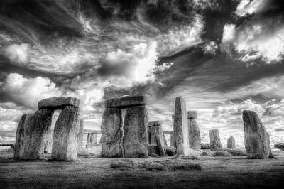Photograph - Stonehenge Prehistory  by David Pyatt