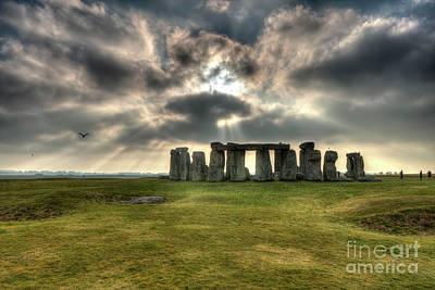 Photograph - Stonehenge  by Rick Mann