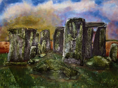 Painting - Stonehenge by Shelley Bain