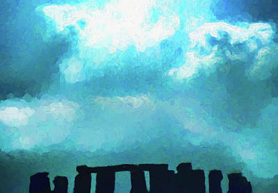 Photograph - Stonehenge Silhouette by Dennis Cox WorldViews