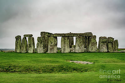 Photograph - Stonehenge by Sue Karski