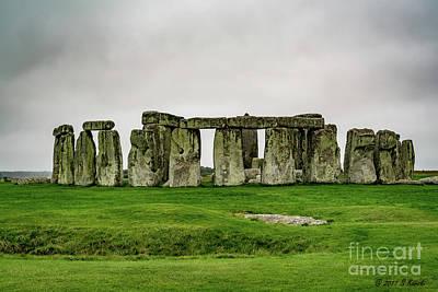 Photograph - Stonehenge by Sue Karski