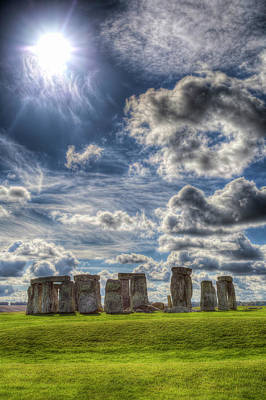 Photograph - Stonehenge Summer by David Pyatt