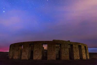 Photograph - Stonehenge Sunrise by Cat Connor