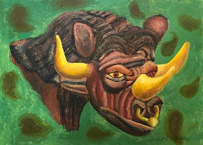Minotaur Paintings Fine Art America