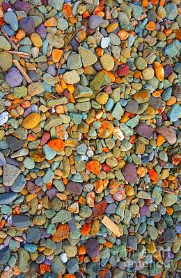 Photograph - Stones by Christopher Shellhammer