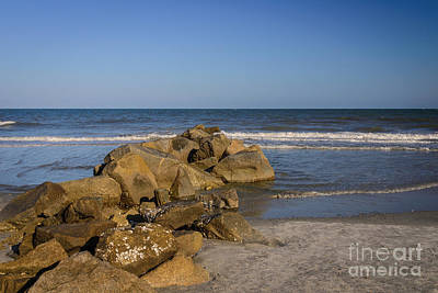 Photograph - Stones In The Ocean by Elvis Vaughn