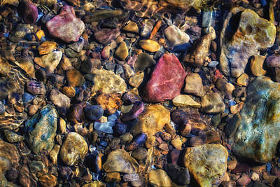 Stoney Creek Photograph - Stones by James Barber