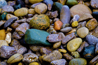 Photograph - Stones by Kevin Blackburn