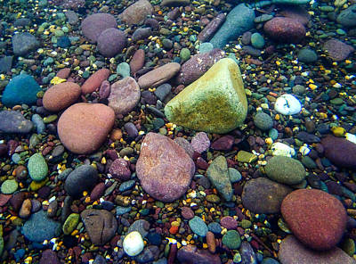 Photograph - Stones by Noel O Neill