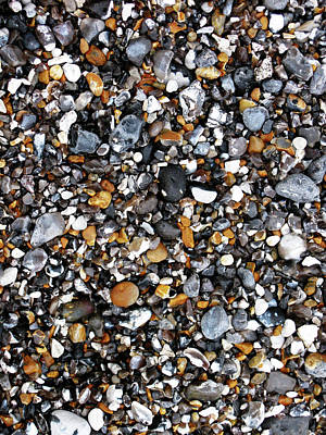 Photograph - Stones On The Beach by Tom Conway