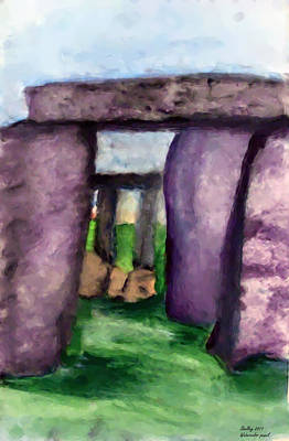 Painting - Stones by Shelley Bain