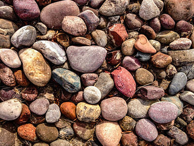 Photograph - Stones by Stan  Magnan