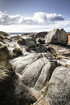 Northeastern Photograph - Stones Throw Away From The Sea by Jorgo Photography - Wall Art Gallery