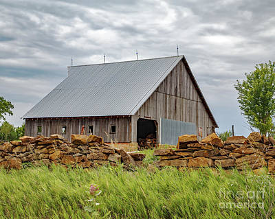 Keith Richards - Stonewall Barn by Kevin Anderson