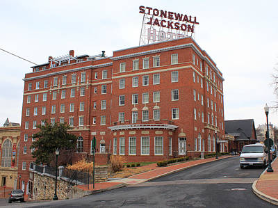 Photograph - Stonewall Jackson Hotel by Joseph C Hinson Photography