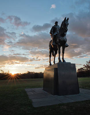 Photograph - Stonewall Jackson Sunrise by Jack Nevitt