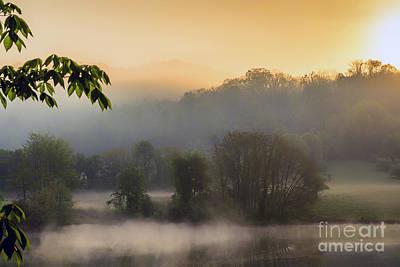 Stonewall Lake Sunrise Art Print