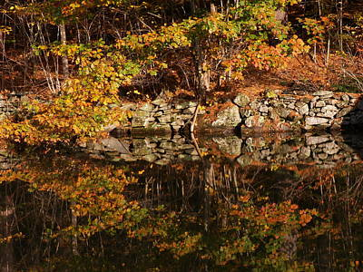 Photograph - Stonewall Reflections by Nancy Griswold